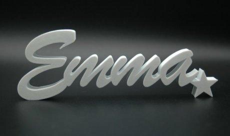 Prénom personnalisé en impression 3D
